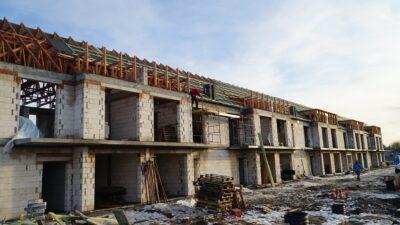 Osiedle na Cichej w Osielsku - budowa